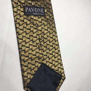 Pavone neck tie from Italy brand new